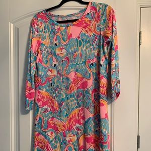 Lily Pulitzer flamingo dress